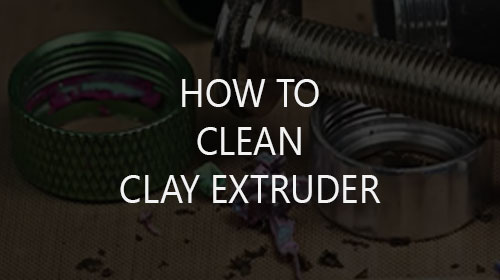 How to Clean Polymer Clay Extruder
